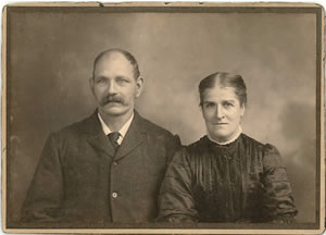 George and Mary Clist, Shoreditch, Taunton, Somerset. My great-grandparents.